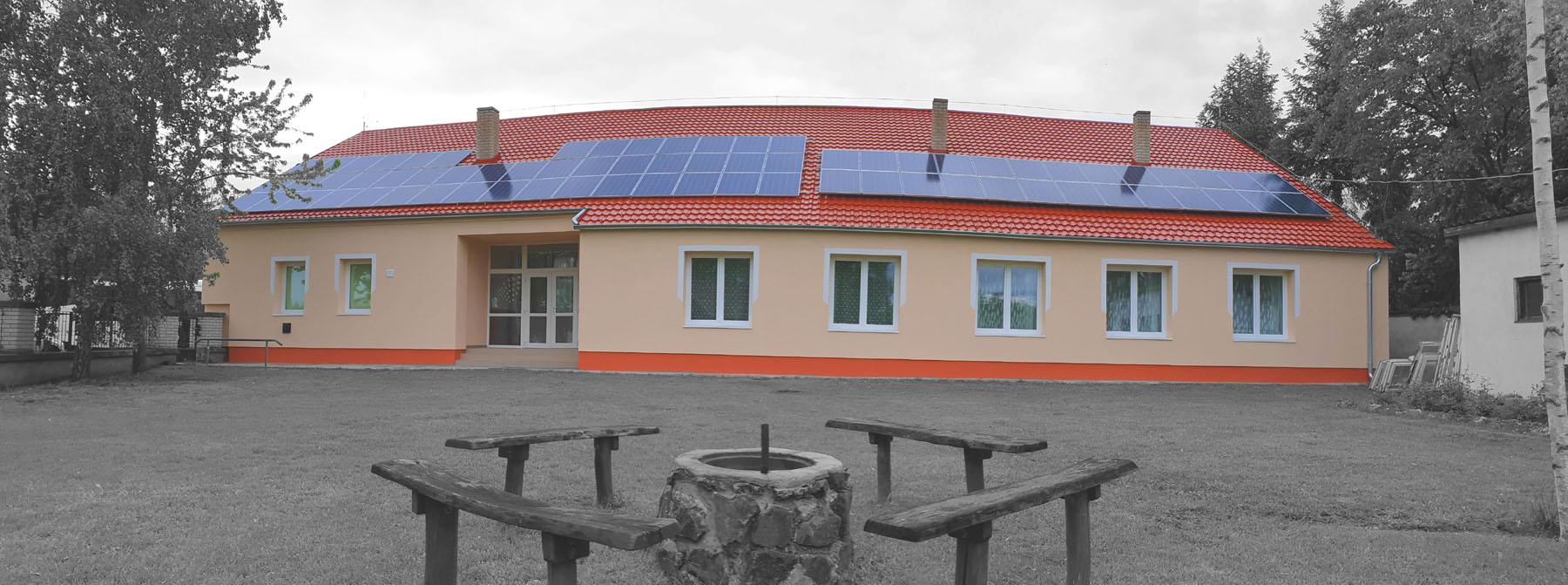 webre _napelemes épület